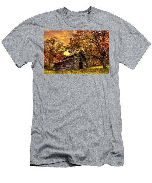 Chill Of An Early Fall Men's T-Shirt (Athletic Fit)