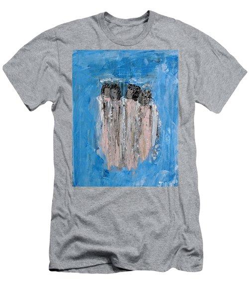 Choir Angels Men's T-Shirt (Athletic Fit)