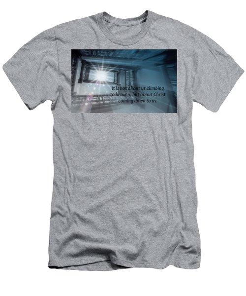 Christ Alone Men's T-Shirt (Athletic Fit)