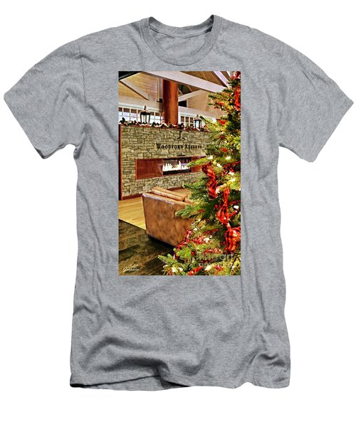 Christmas At Woodford Reserve Men's T-Shirt (Athletic Fit)