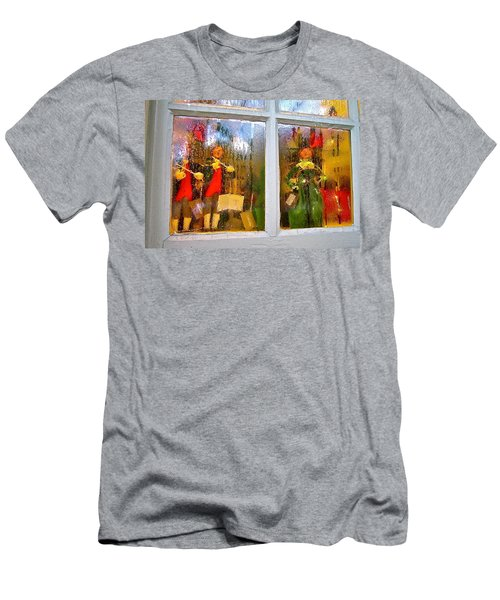 Men's T-Shirt (Athletic Fit) featuring the photograph Christmas Chorale by Don Moore