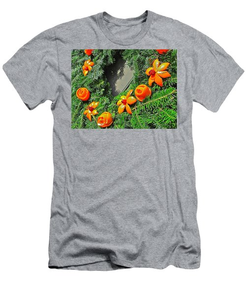 Men's T-Shirt (Athletic Fit) featuring the photograph Christmas Citrus by Don Moore