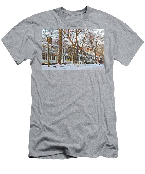 Men's T-Shirt (Athletic Fit) featuring the photograph Christmas Snow by Don Moore