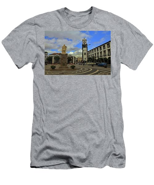 Men's T-Shirt (Athletic Fit) featuring the photograph City Gate  by Tony Murtagh