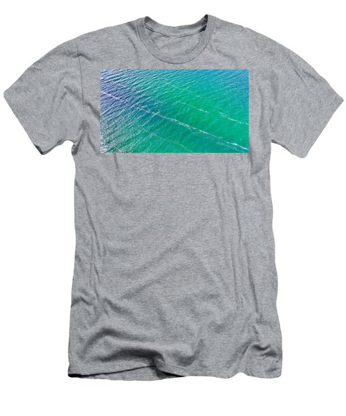 Clear Water Imagery  Men's T-Shirt (Athletic Fit)