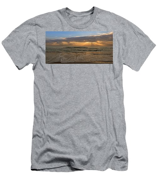 Cloudy Sunrise In The Mediterranean Men's T-Shirt (Athletic Fit)
