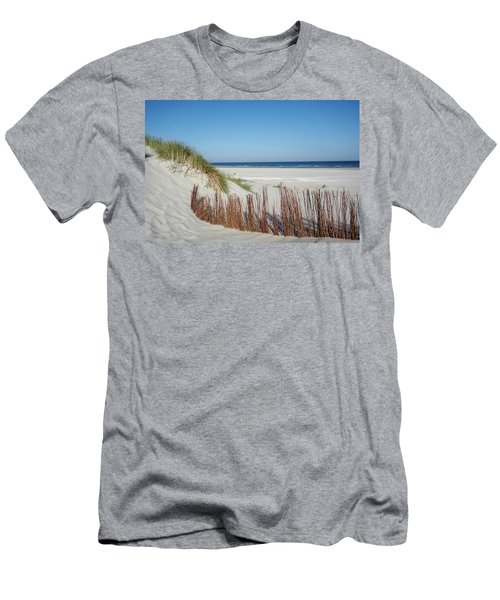 Men's T-Shirt (Athletic Fit) featuring the photograph Coast Ameland by Anjo Ten Kate