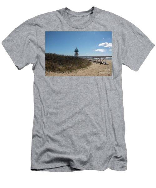 Coastal Brant Light House Men's T-Shirt (Athletic Fit)