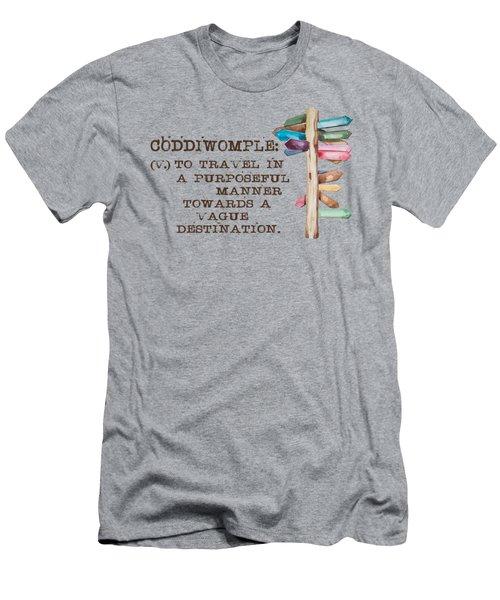 Coddiwomple Men's T-Shirt (Athletic Fit)
