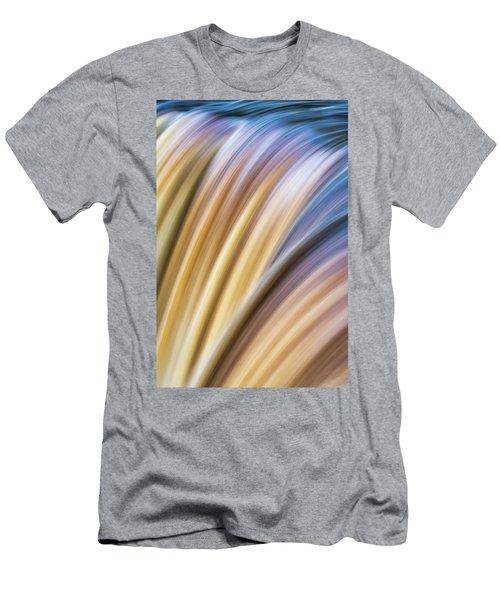 Colorful Flow Men's T-Shirt (Athletic Fit)