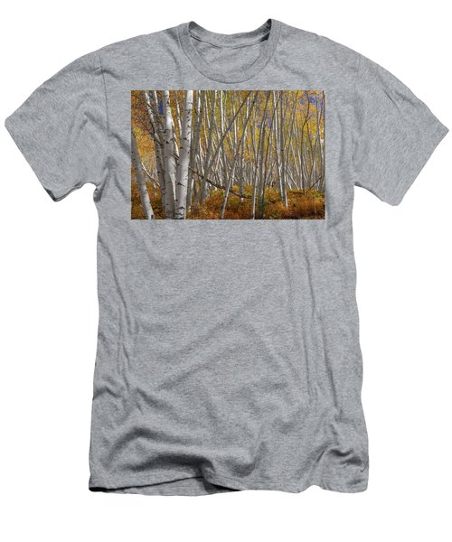 Men's T-Shirt (Athletic Fit) featuring the photograph Colorful Stick Forest by James BO Insogna