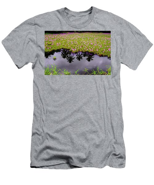 Colors On The Water Men's T-Shirt (Athletic Fit)