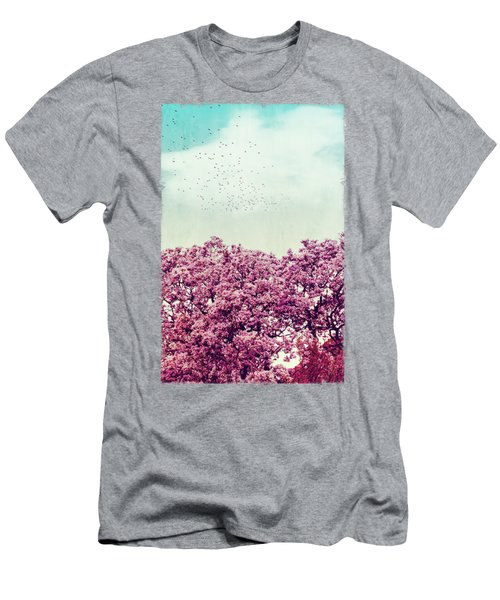 Colours Of Spring Men's T-Shirt (Athletic Fit)