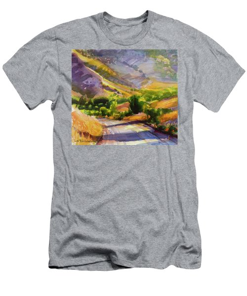Columbia County Backroads Men's T-Shirt (Athletic Fit)