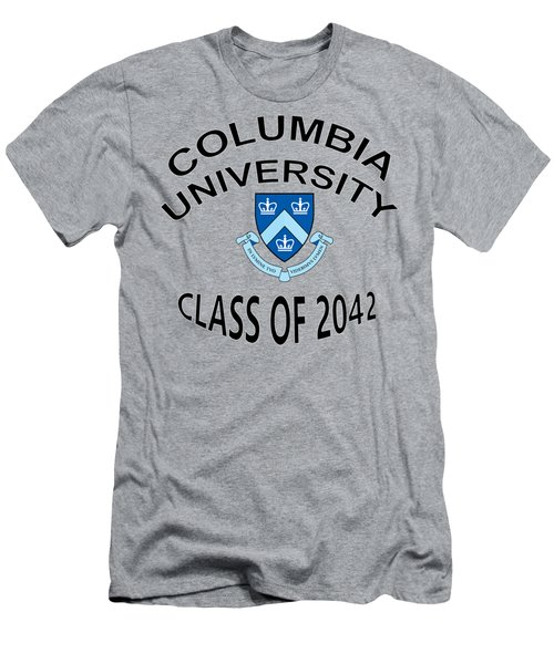 Columbia University Class Of 2042 Men's T-Shirt (Athletic Fit)