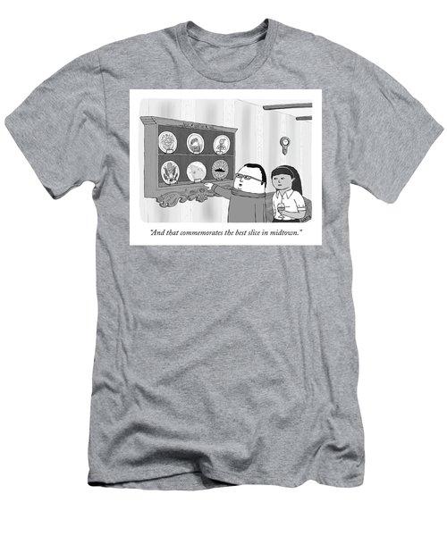 Commemorative Plates Men's T-Shirt (Athletic Fit)