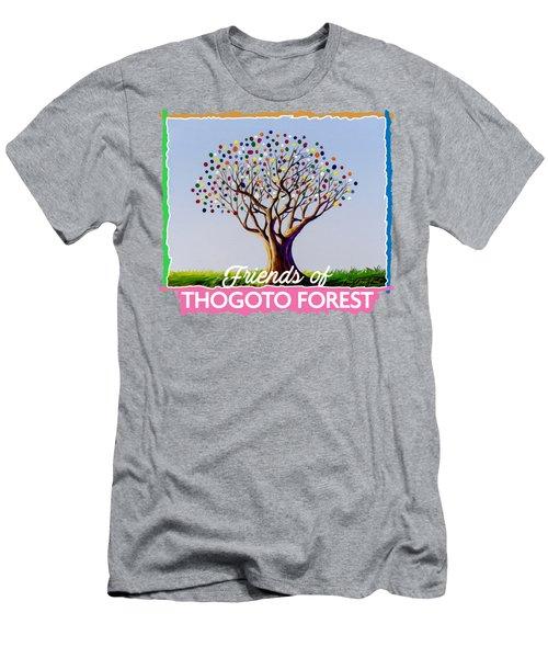 Community Tree Men's T-Shirt (Athletic Fit)