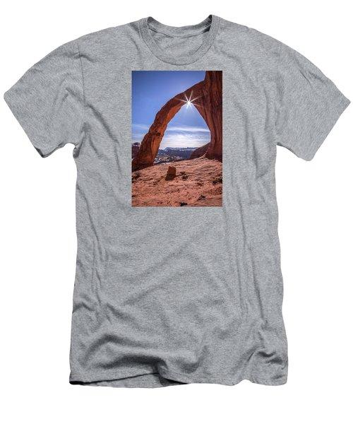 Corona Arch Sunburst Men's T-Shirt (Athletic Fit)