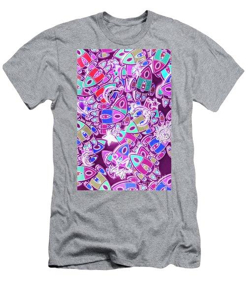 Cosmic Creativity Men's T-Shirt (Athletic Fit)