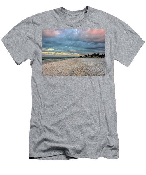Cotton Candy Sky Men's T-Shirt (Athletic Fit)