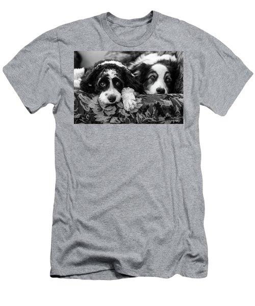 Couch Potatoes Men's T-Shirt (Athletic Fit)