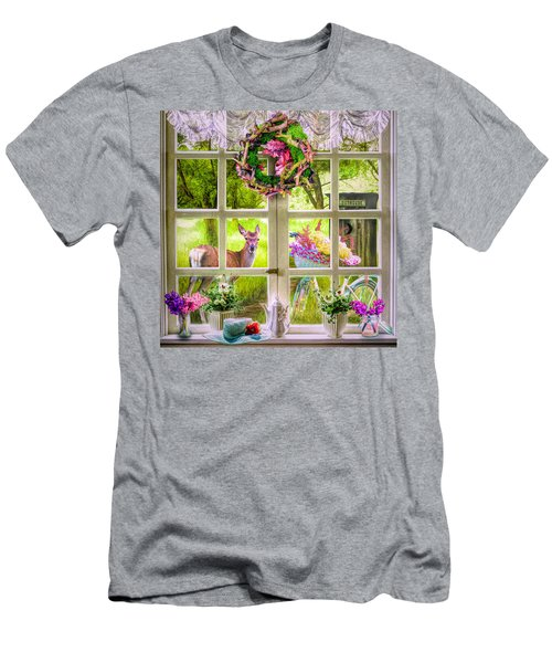 Country Cottage Men's T-Shirt (Athletic Fit)