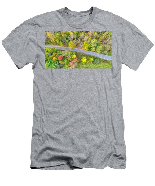 Country Path Men's T-Shirt (Athletic Fit)