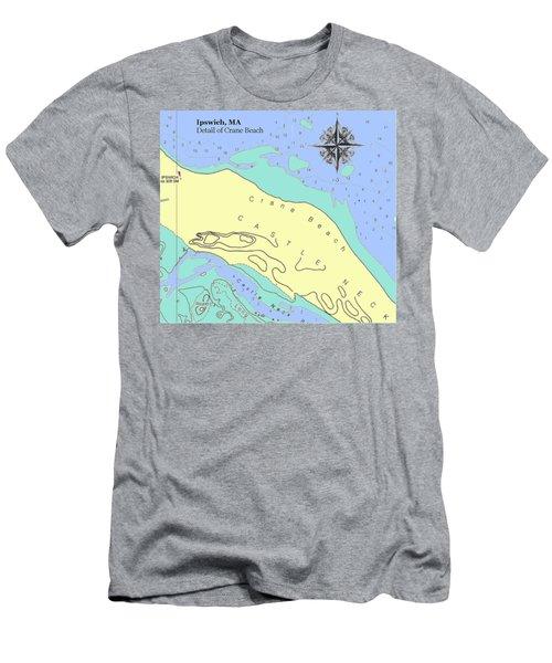 Crane Beach Men's T-Shirt (Athletic Fit)