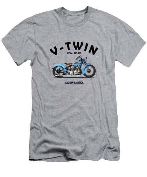 Crocker Hem-head V-twin Men's T-Shirt (Athletic Fit)