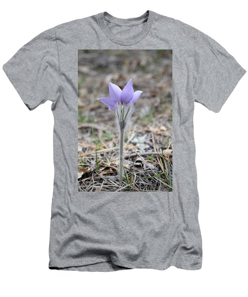 Crocus Detail Men's T-Shirt (Athletic Fit)