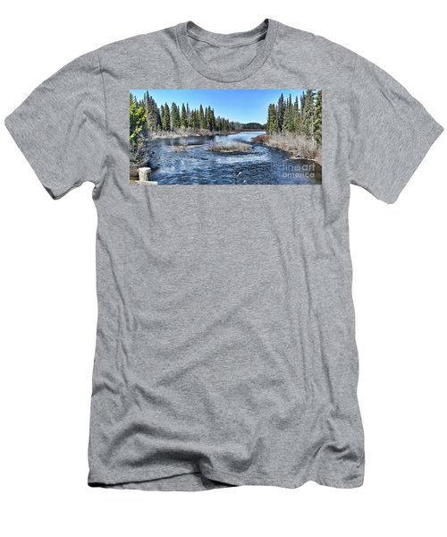 Crooked River Men's T-Shirt (Athletic Fit)