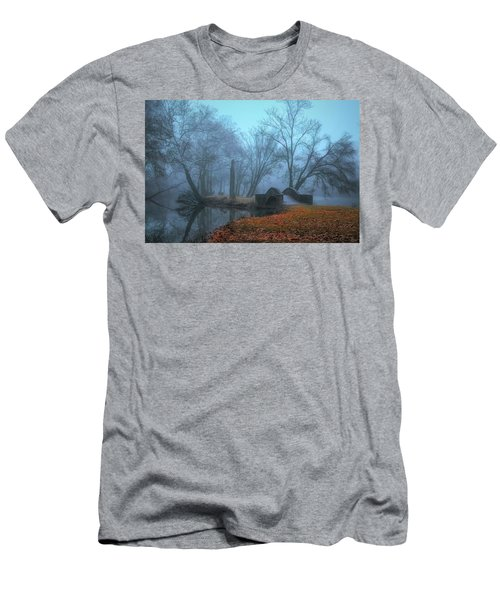 Crossing Into Winter Men's T-Shirt (Athletic Fit)