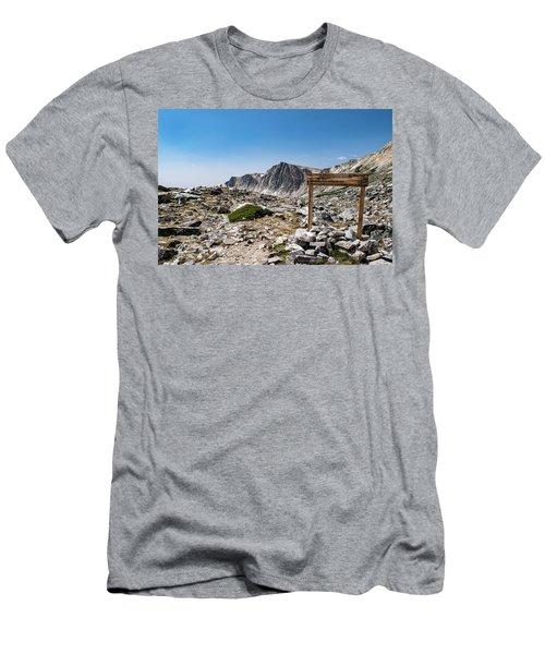 Crossroads At Medicine Bow Peak Men's T-Shirt (Athletic Fit)