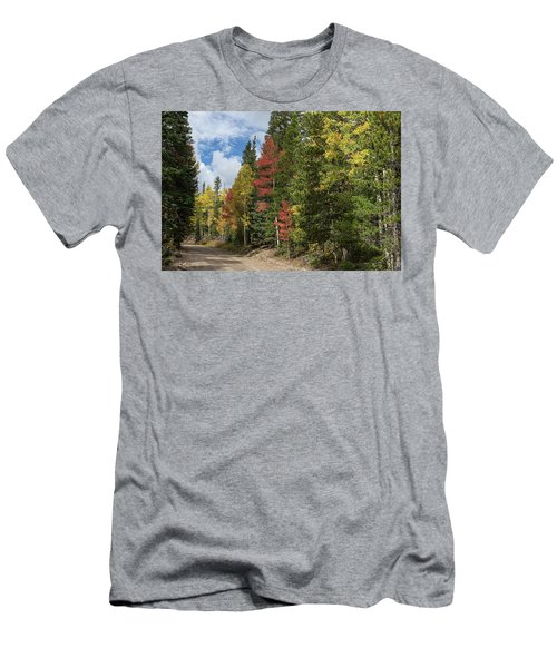 Men's T-Shirt (Athletic Fit) featuring the photograph Cruising Colorado by James BO Insogna