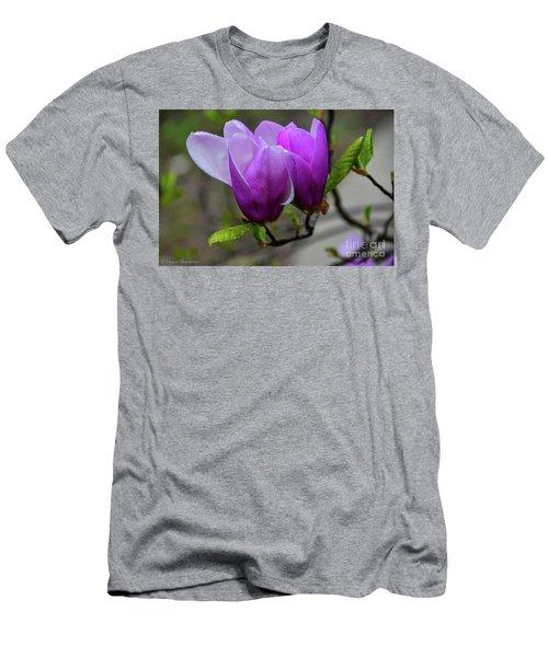 Cuddling In Spring Men's T-Shirt (Athletic Fit)