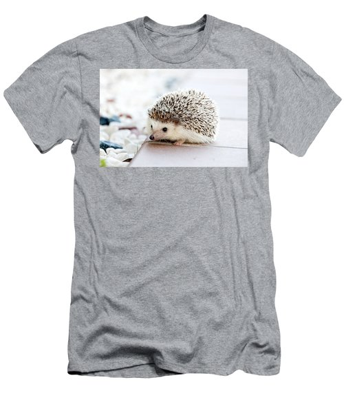Cute Hedgeog Men's T-Shirt (Athletic Fit)