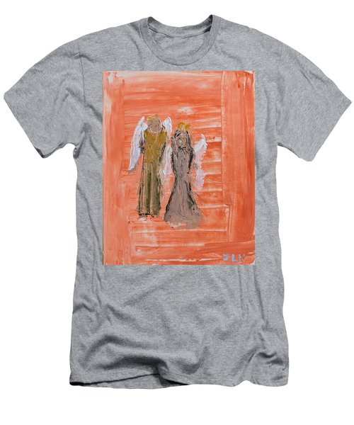 Dating Angels Men's T-Shirt (Athletic Fit)