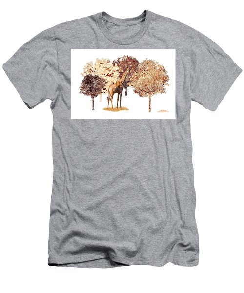 Men's T-Shirt (Athletic Fit) featuring the digital art Day Dreaming by Mike Braun