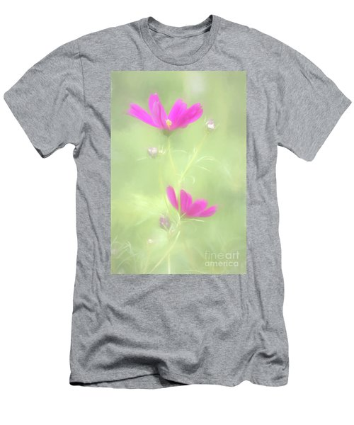 Delicate Painted Cosmos Men's T-Shirt (Athletic Fit)
