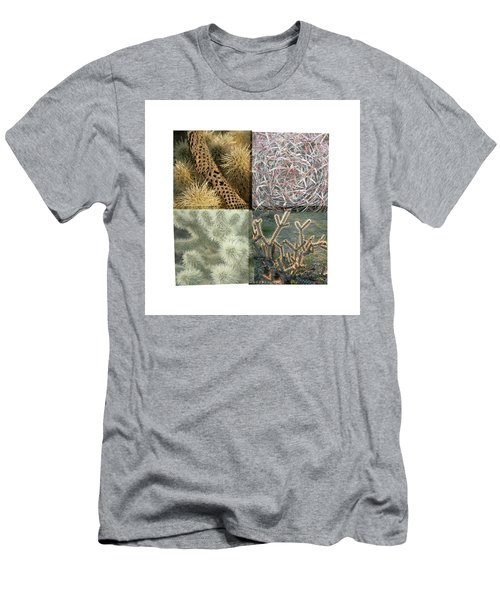 Men's T-Shirt (Athletic Fit) featuring the photograph Desert Suite No 5 by Mark Shoolery
