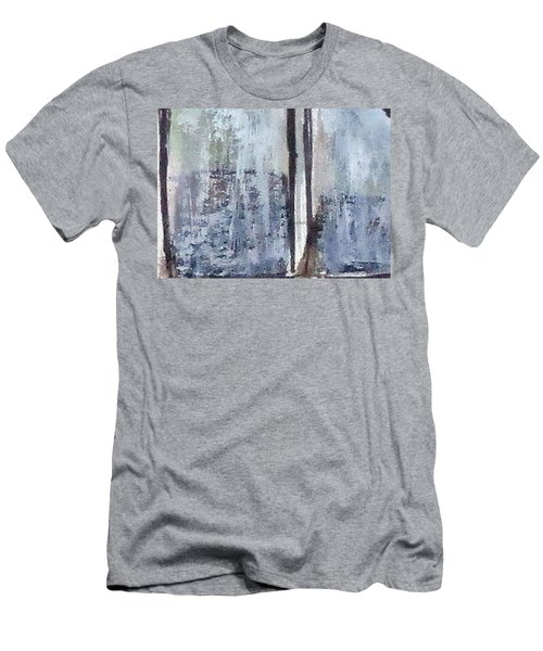 Digital Abstract N13. Men's T-Shirt (Athletic Fit)