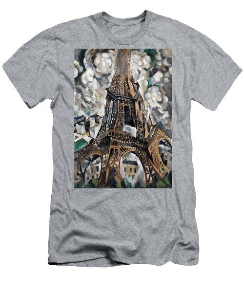 Digital Remastered Edition - Tour Eiffel 1910 Men's T-Shirt (Athletic Fit)