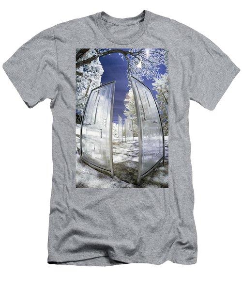 Dimensional Doors Men's T-Shirt (Athletic Fit)