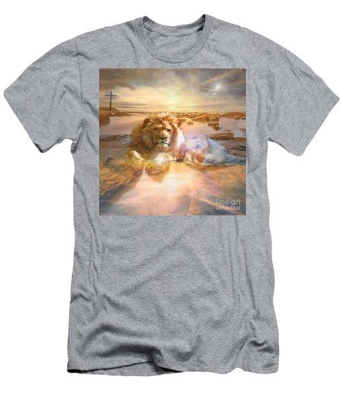 Divine Rest Men's T-Shirt (Athletic Fit)