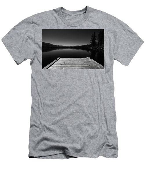Dock At Dusk Men's T-Shirt (Athletic Fit)