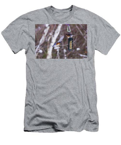 Docking Bluebird Men's T-Shirt (Athletic Fit)