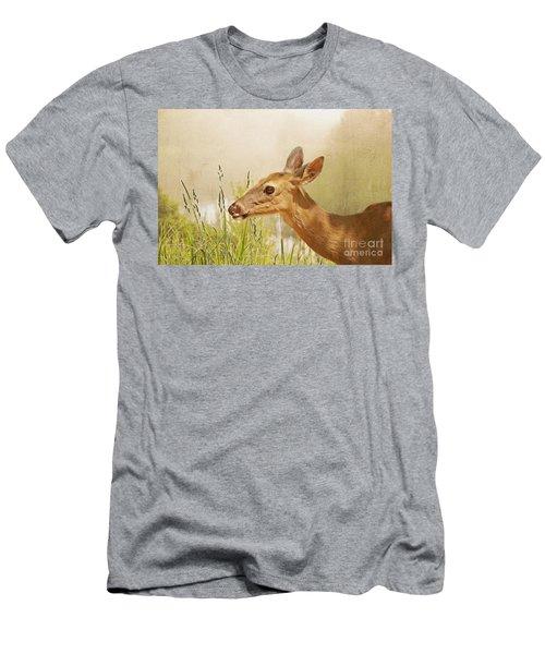 Doe At Dawn Men's T-Shirt (Athletic Fit)