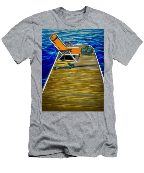 Done Fishing Men's T-Shirt (Athletic Fit)