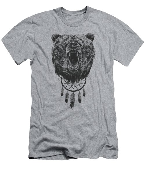 Don't Wake The Bear Men's T-Shirt (Athletic Fit)