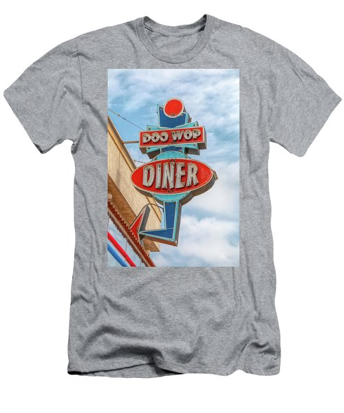 Doo Wop Diner Wildwood Men's T-Shirt (Athletic Fit)